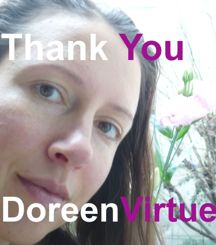 Thank you Doreen Virtue from Claire Samuel