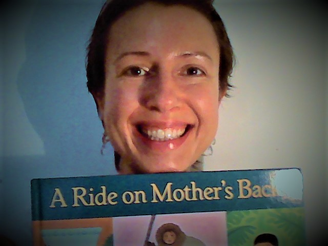 "Children book review about babywearing ""A Ride on Mother's Back: A Day of Baby Carrying around the World"""