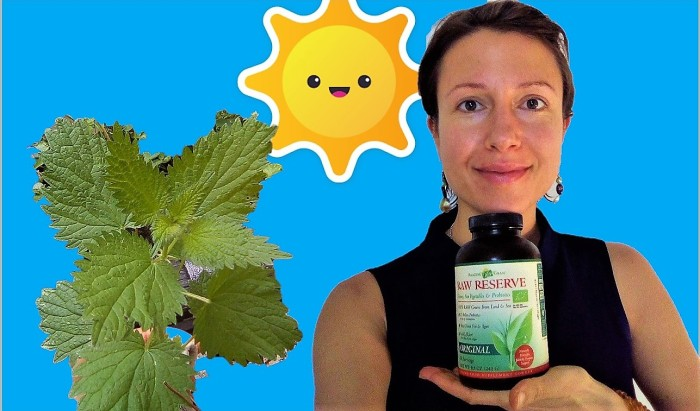 Why a good quality blend of greens, probiotics and enzymes is powerful for us first thing in the morning - Claire Samuel
