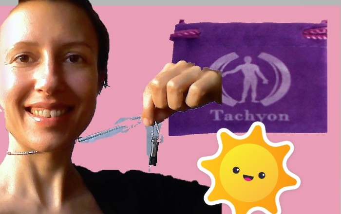 Protection from electromagnetic fields: review of #Tachyon pendant - its unexpected benefits - Claire Samuel