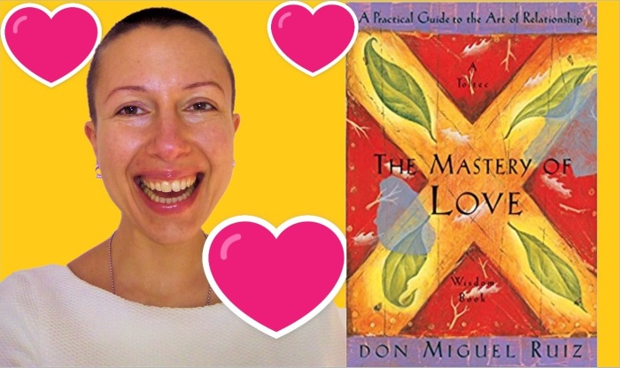 There is four people instead of two within a relationship: lessons from the #book The mastery of love - Claire Samuel