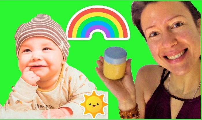 How to make easy #raw #vegan baby food? a delicious recipe for older children as well from Claire Samuel