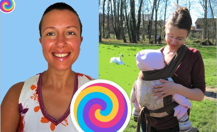 Can I #breastfeed my baby in a #babywearing carrier or wrap? Claire Samuel didymos wrapsody