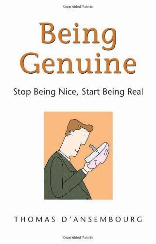 #Book review Being Genuine: Stop Being Nice, Start Being Real by Thomas d'Ansembourg - 10 books to rebuild our life Series Ep. 1 Claire Samuel
