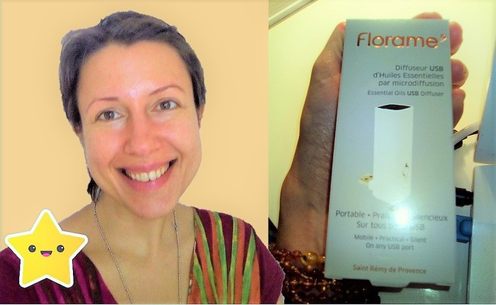 How to create a nice work/home environment? Essential oils and review of the USB diffuser by Florame Claire Samuel