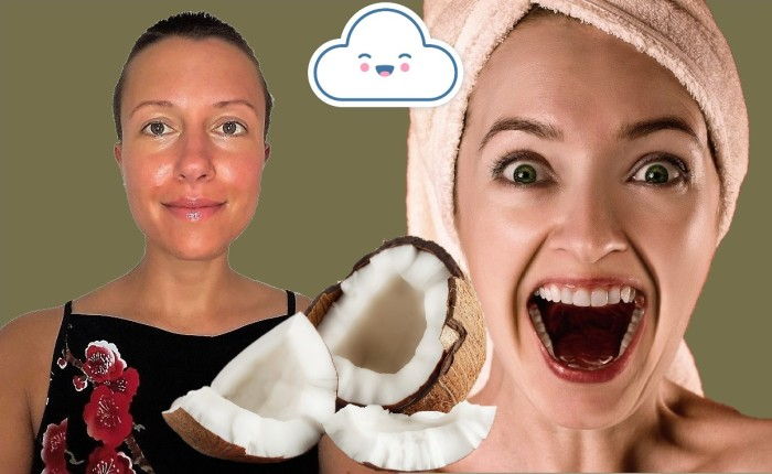 How to make a toothpaste and a face scrub using coconut oil? Claire Samuel