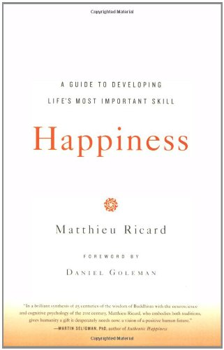 Happiness Matthieu Ricard