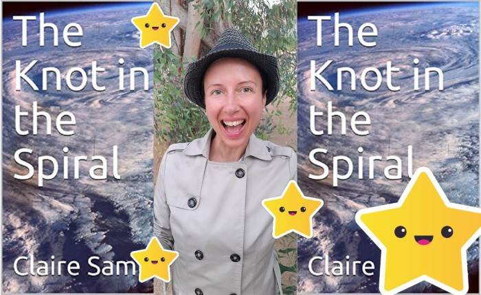 Official announcement my #book The Knot in the Spiral is available for you now