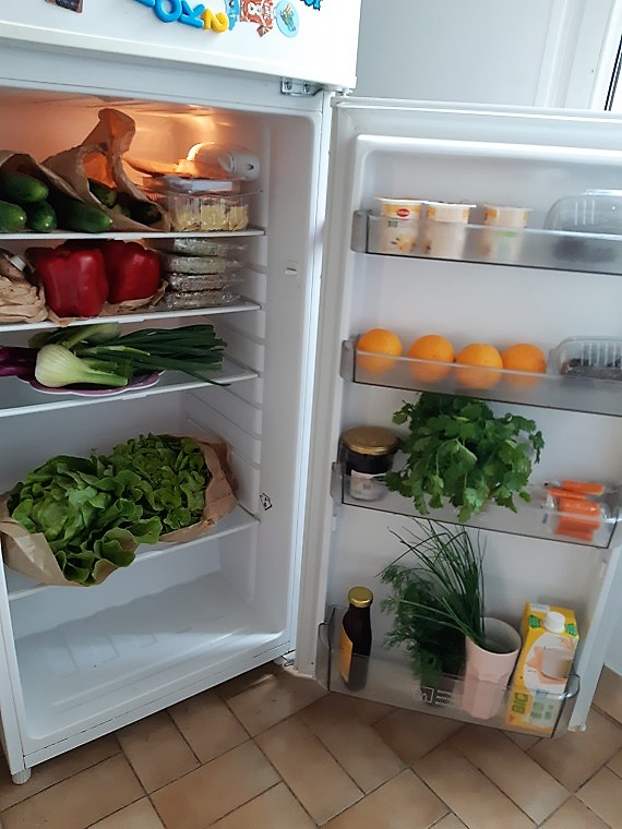 What's in my #fridge ? Spring summer in Paris France
