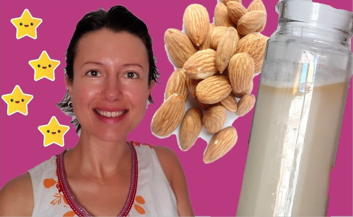 How to create the most yummy almond mylk with vanilla? #livingfood