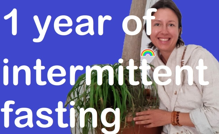 What happens after a year of #intermittentfasting ? easy #fasting