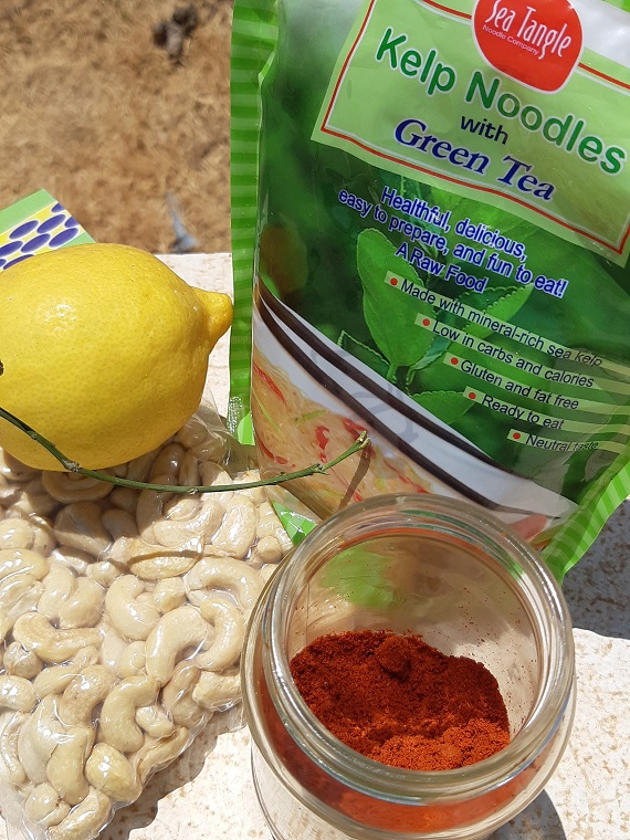 #Cashews paprika and basil #recipe or fresh and creamy dip