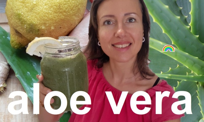 How do I eat my fresh #aloevera leaf? #smoothierecipe